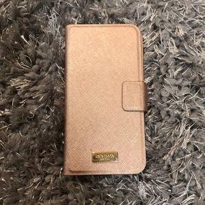 Kate spade iPhone case & Card holder